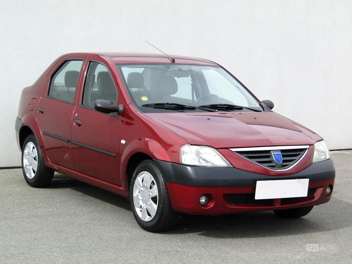 Dacia Logan, 2006 - celkový pohled