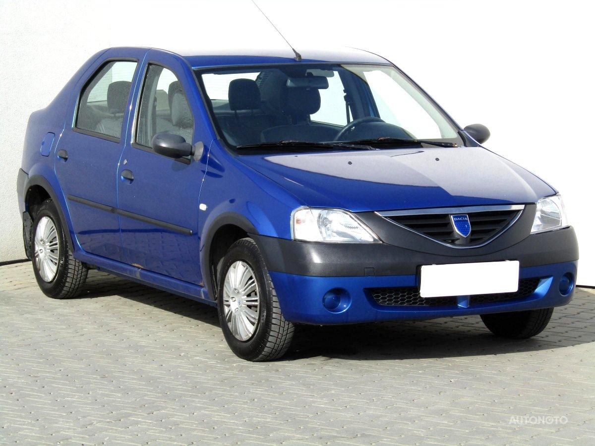 Dacia Logan, 2005 - celkový pohled