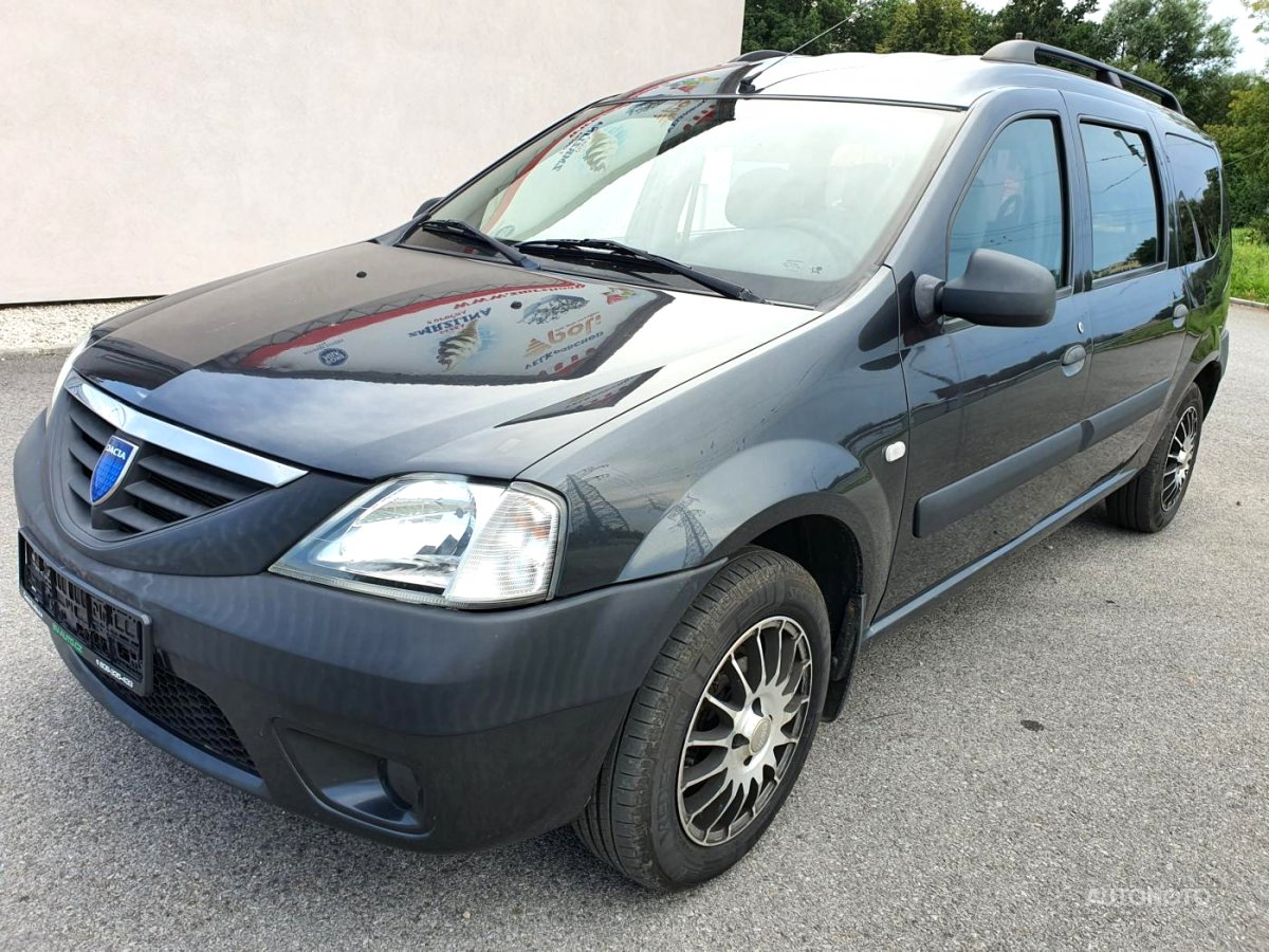 Dacia Logan, 2008 - celkový pohled