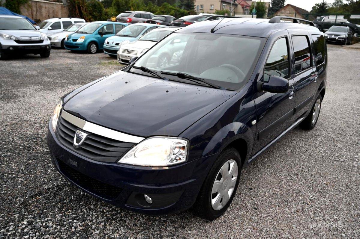 Dacia Logan, 2012 - celkový pohled