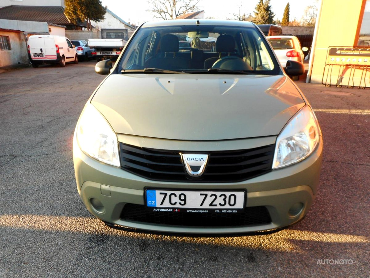 Dacia Sandero, 2009 - celkový pohled