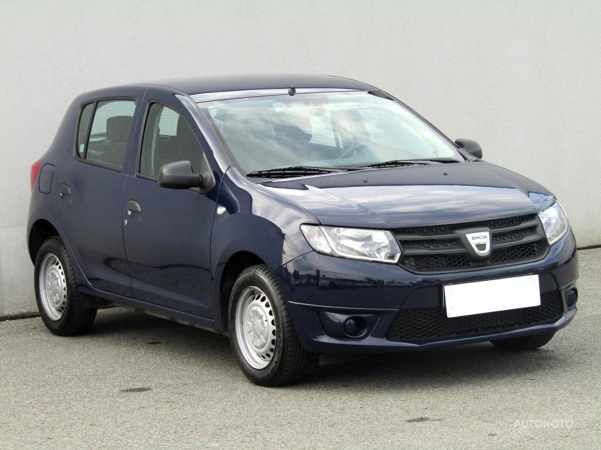 Dacia Sandero, 2014 - celkový pohled