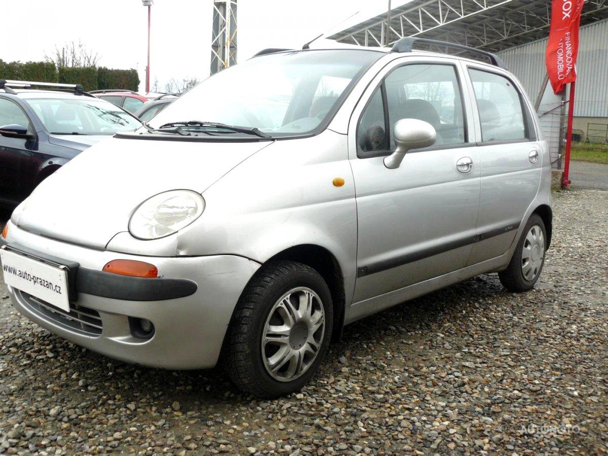 Daewoo Matiz, 2000 - celkový pohled