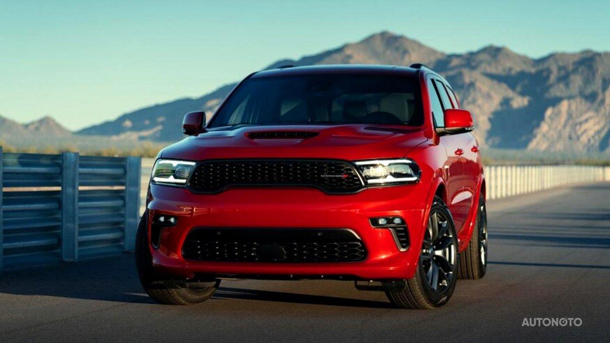 Dodge Durango, 2020 - celkový pohled