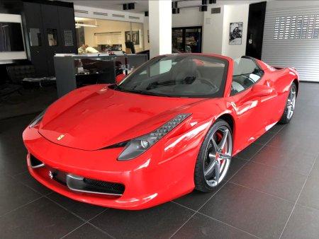 Ferrari 458, 2012