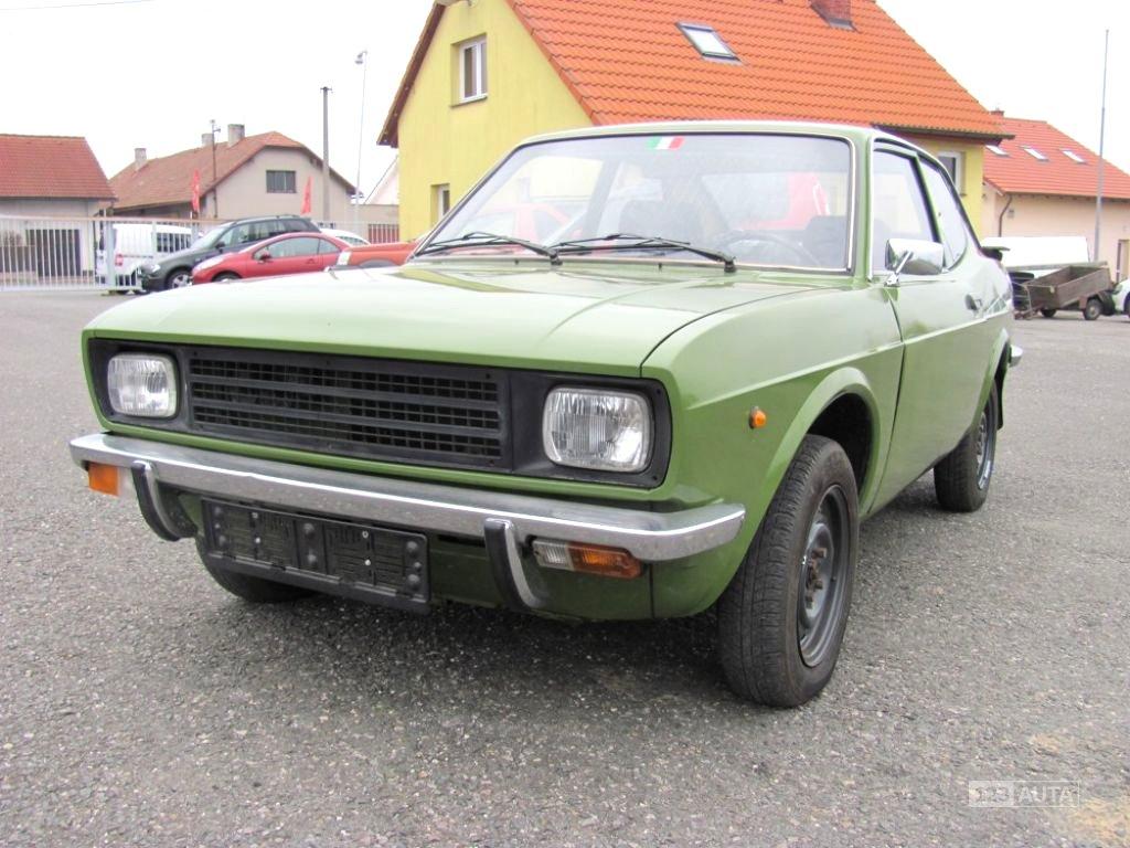 Fiat 128, 1974 - celkový pohled