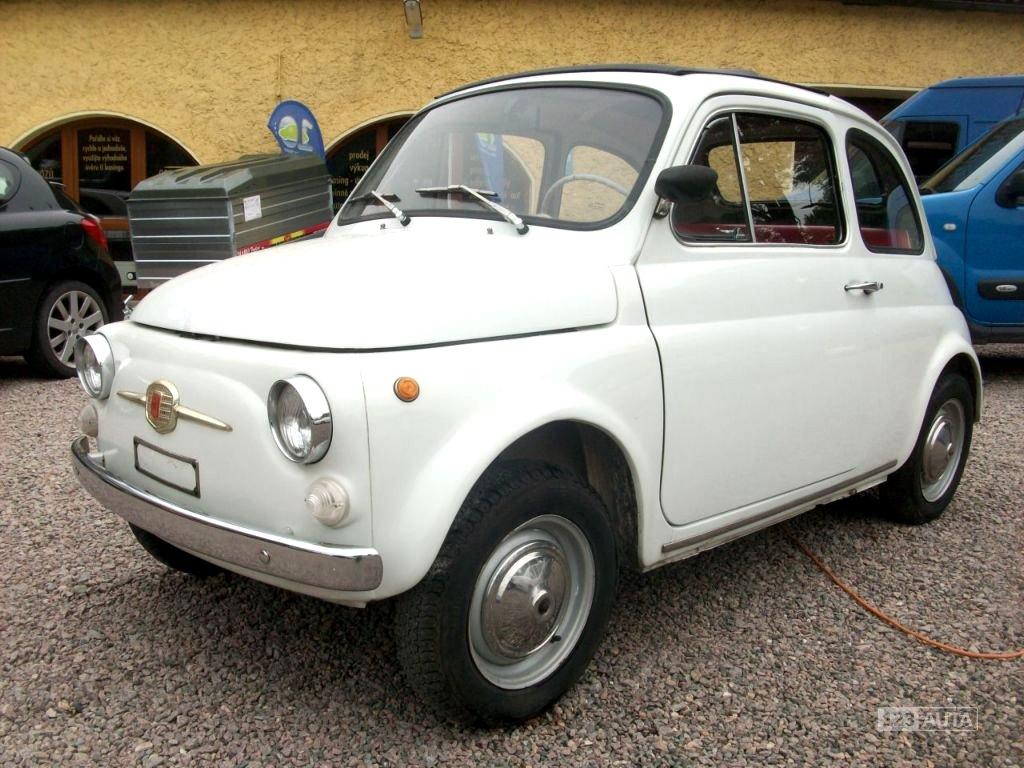 Fiat 500, 1972 - celkový pohled