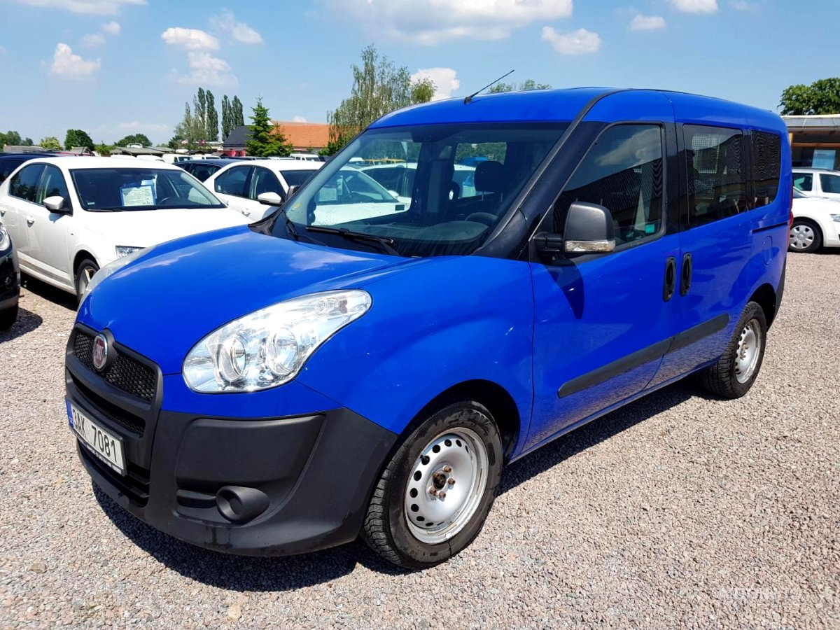 Fiat Dobló cargo, 2013 - celkový pohled