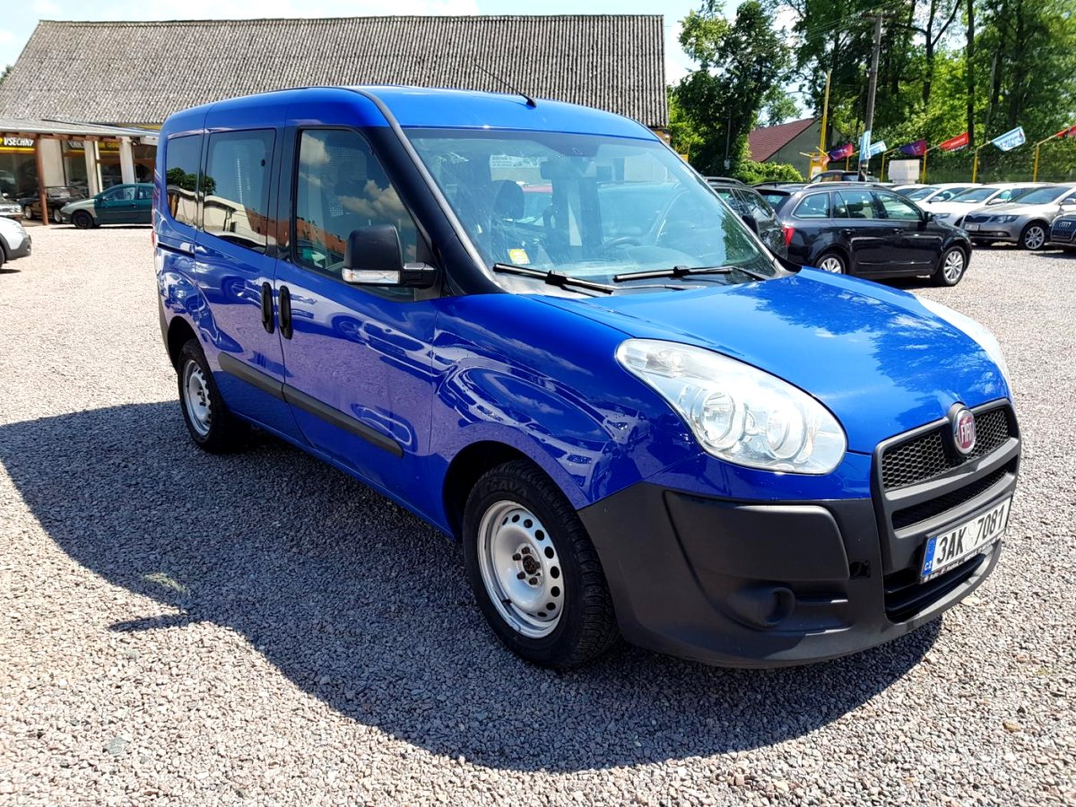 Fiat Dobló cargo, 2013 - pohled č. 3