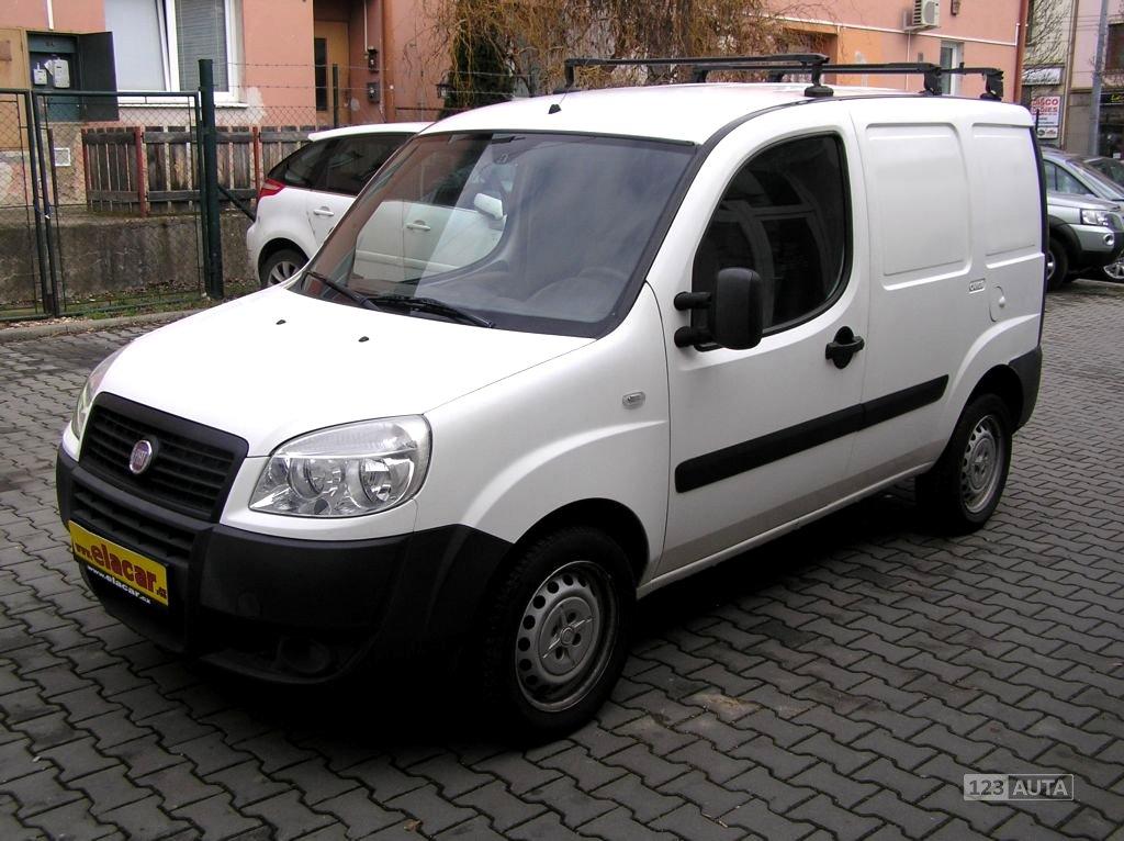 Fiat Dobló, 2010 - celkový pohled