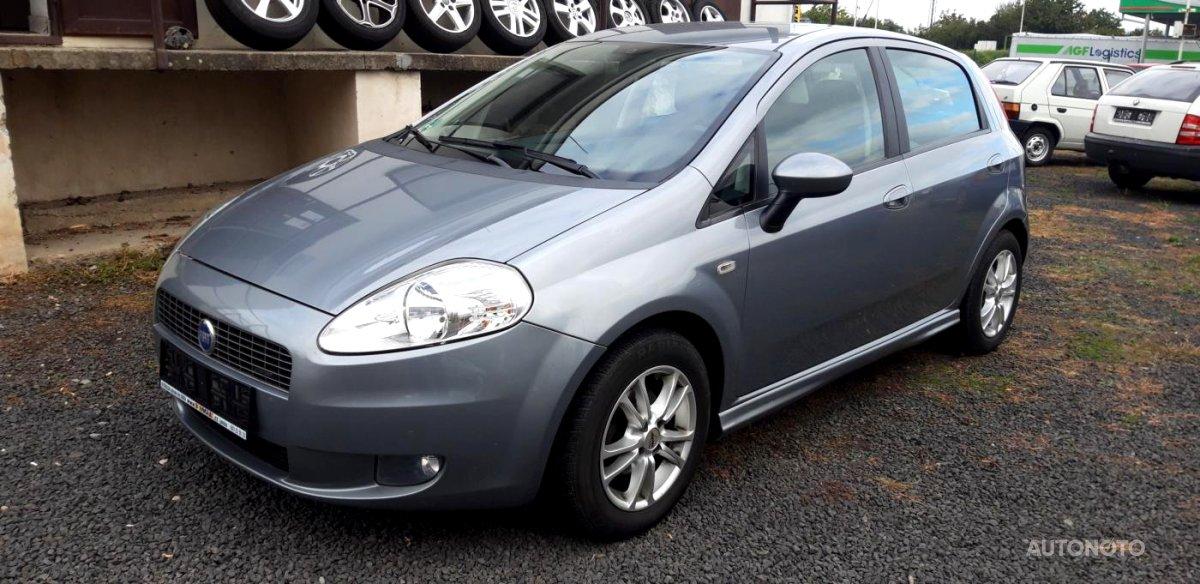 Fiat Grande Punto, 2007 - celkový pohled