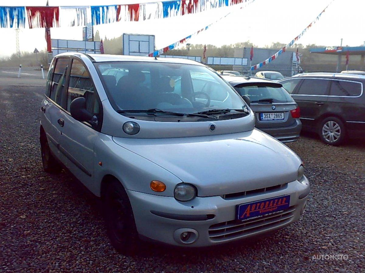 Fiat Multipla, 2002 - celkový pohled