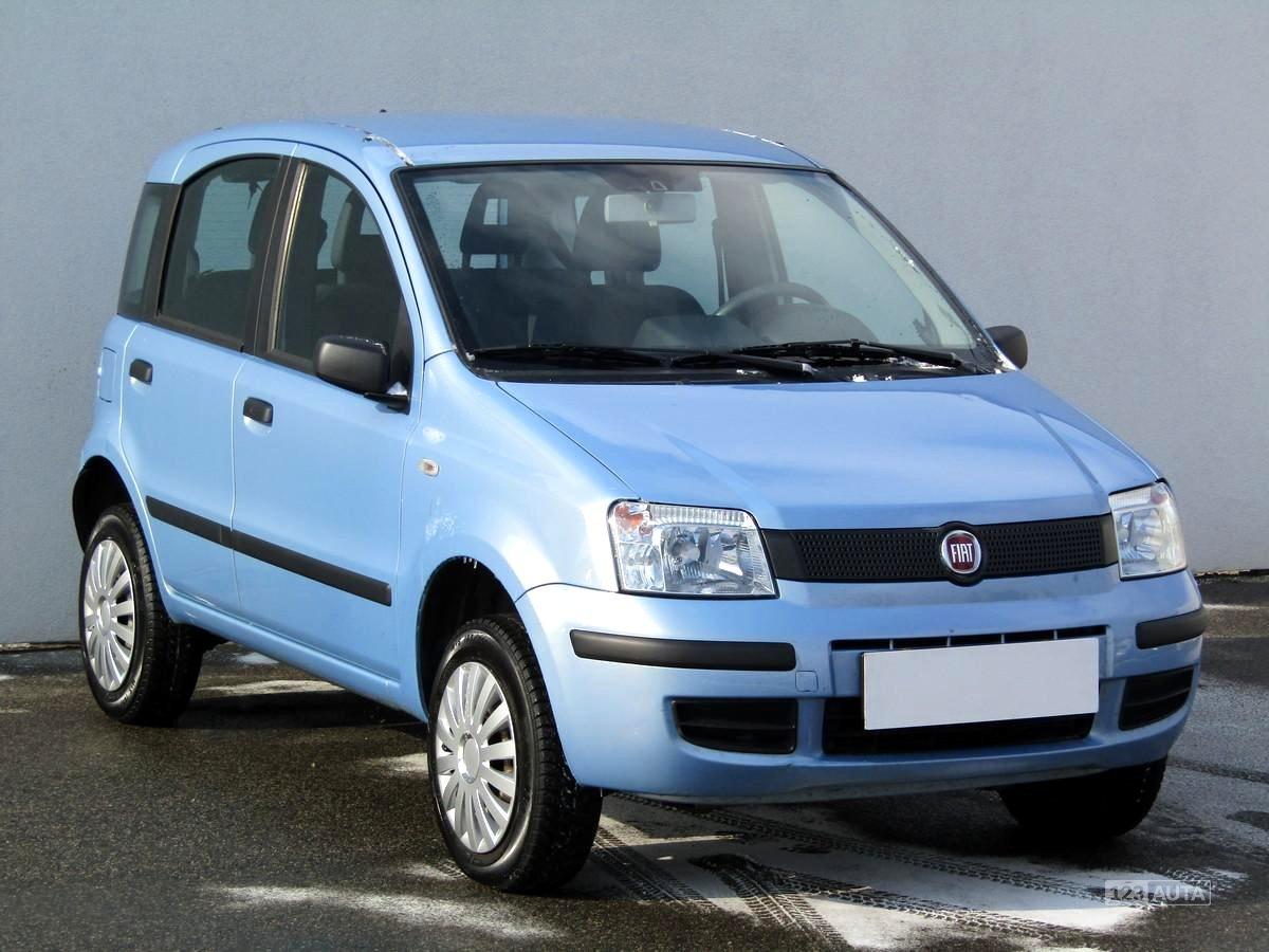 Fiat Panda, 2008 - celkový pohled