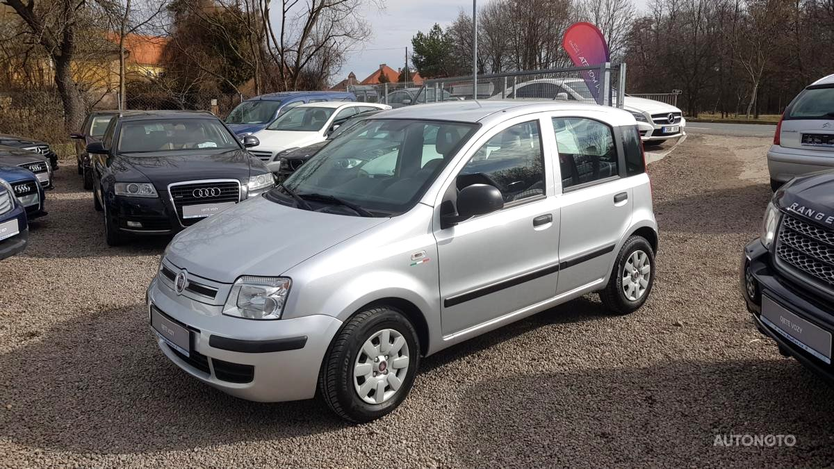 Fiat Panda, 2011 - celkový pohled