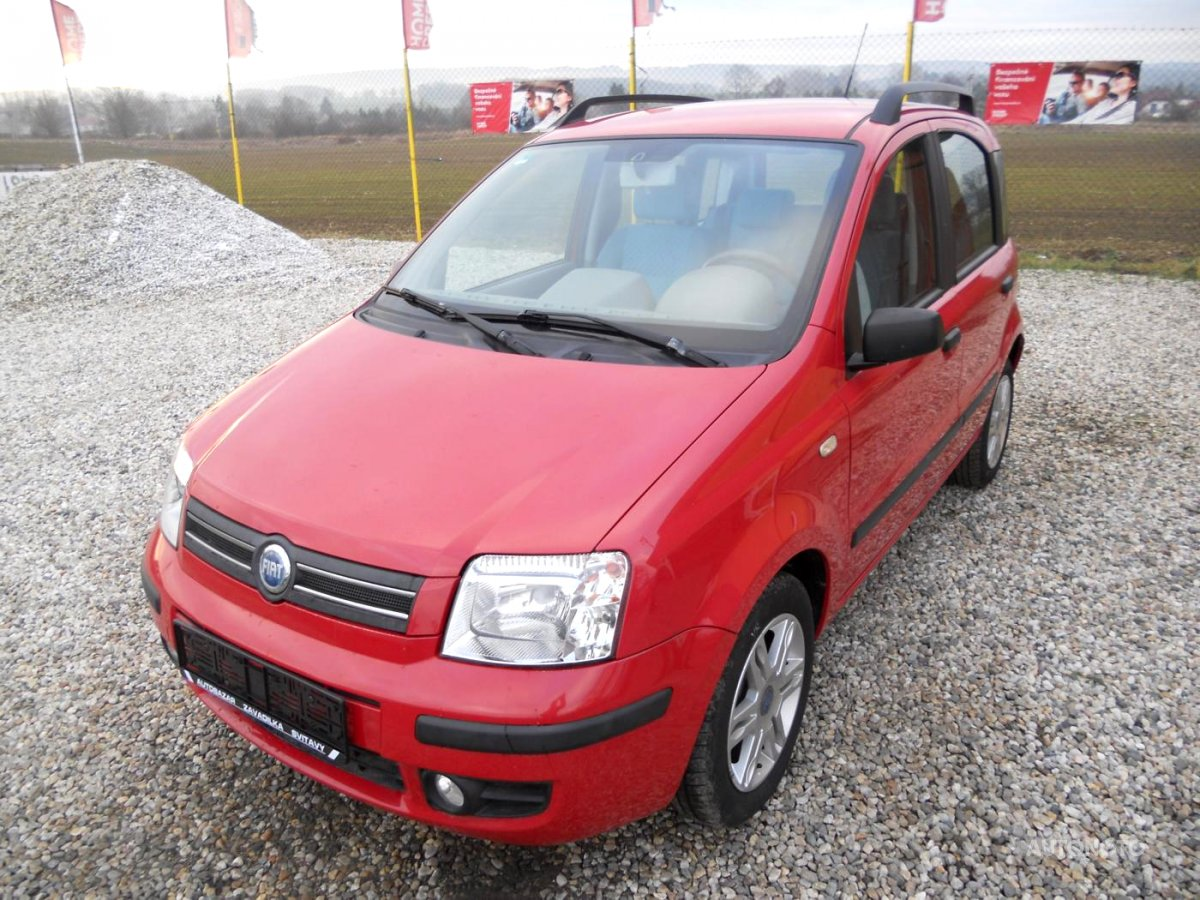 Fiat Panda, 2003 - celkový pohled