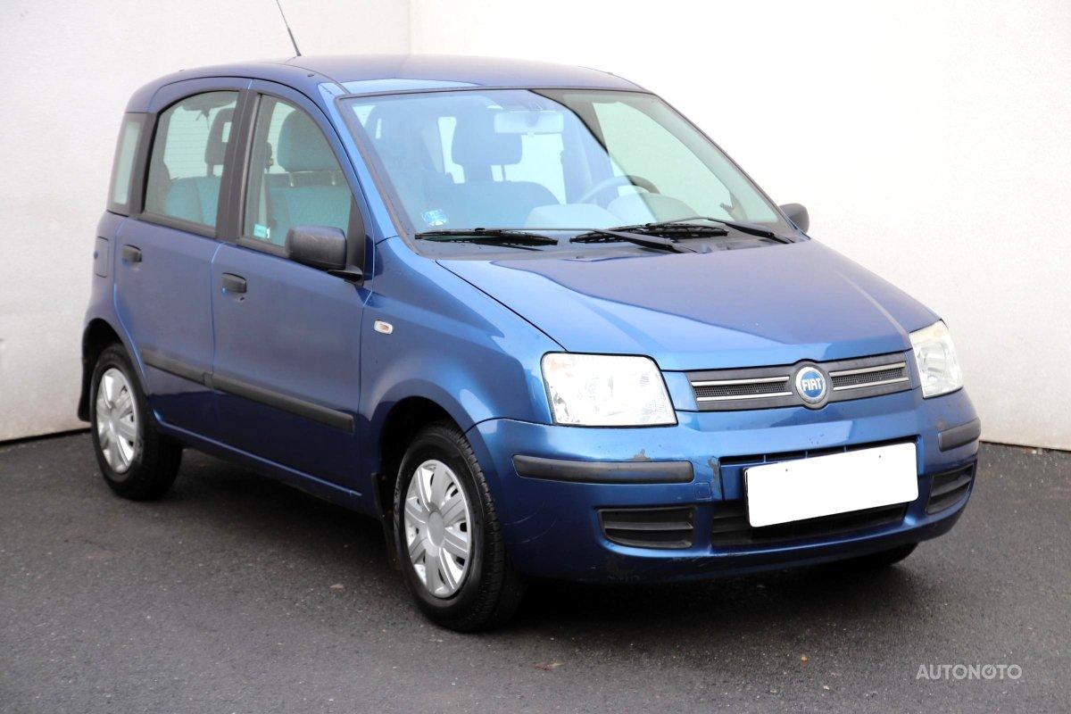 Fiat Panda, 2004 - celkový pohled