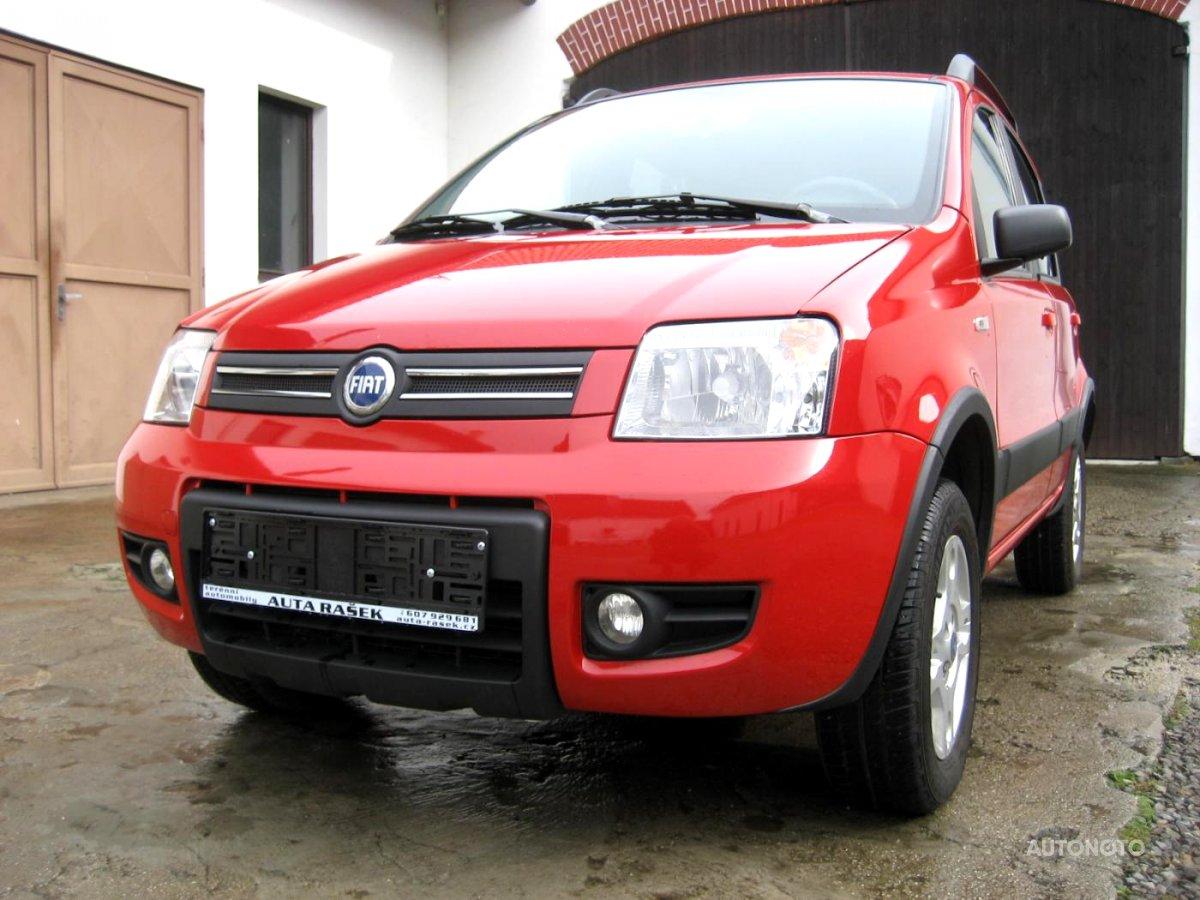 Fiat Panda, 2007 - celkový pohled