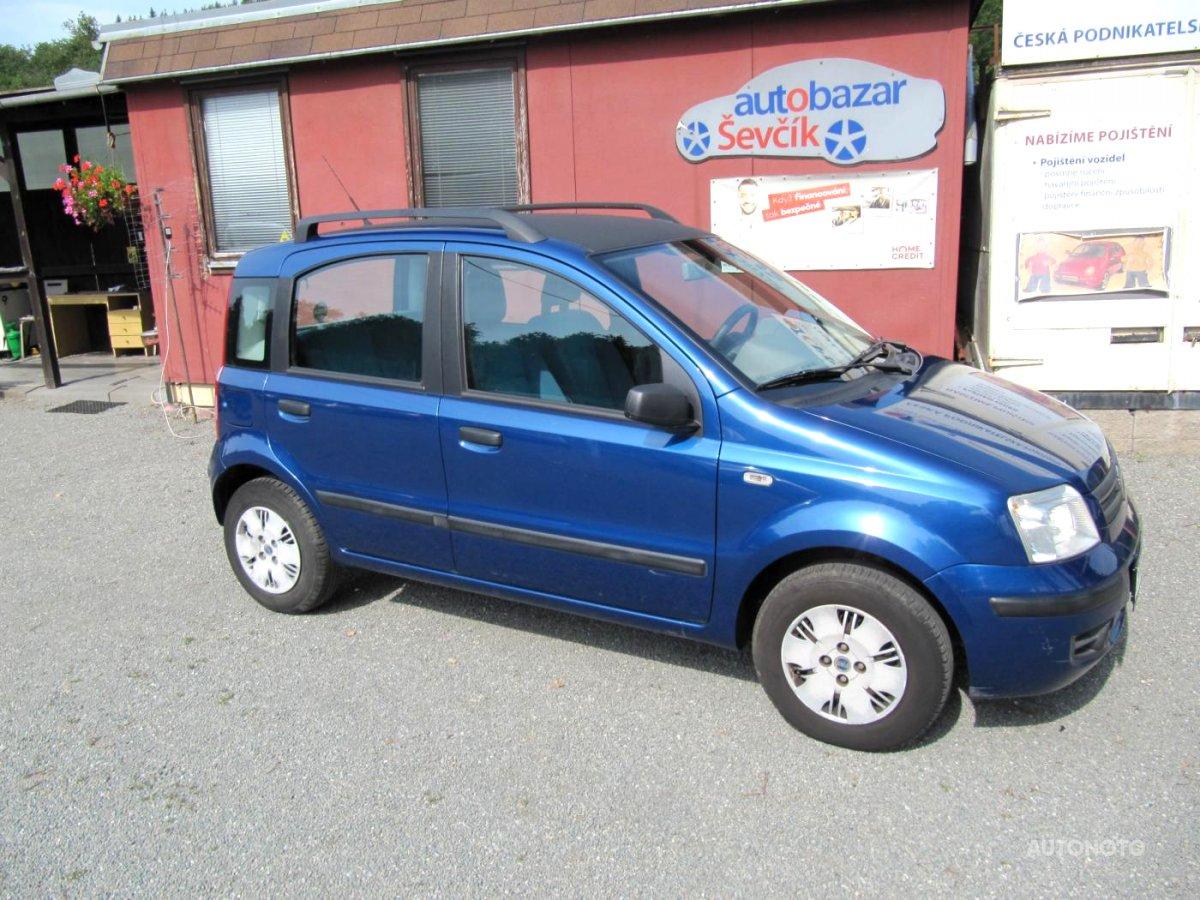 Fiat Panda, 2006 - celkový pohled