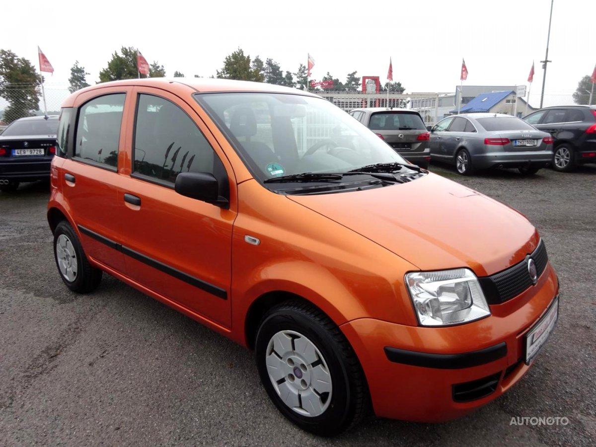 Fiat Panda, 2009 - celkový pohled