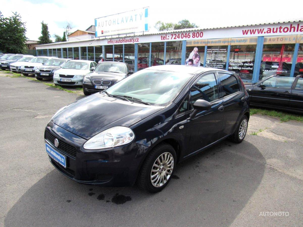Fiat Punto, 2012 - celkový pohled