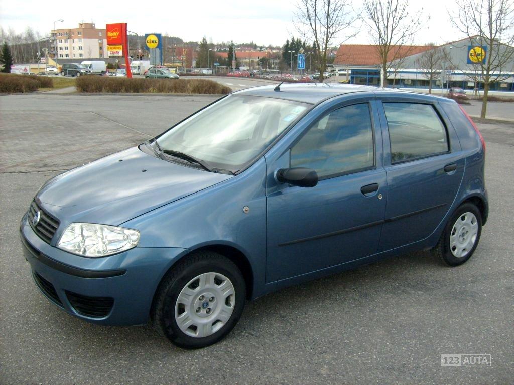 Fiat Punto, 2004 - celkový pohled