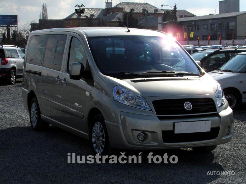 Fiat Scudo, 2010 - celkový pohled