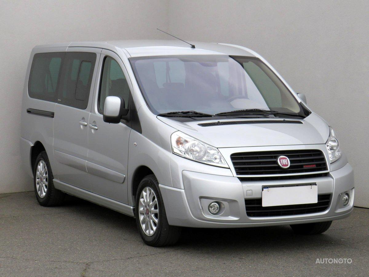 Fiat Scudo, 2012 - celkový pohled