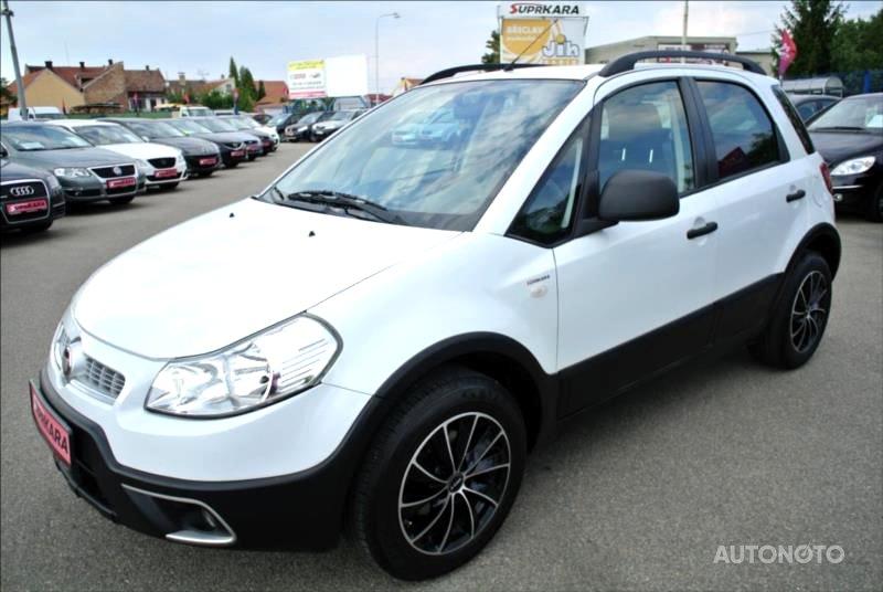 Fiat Sedici, 2010 - celkový pohled