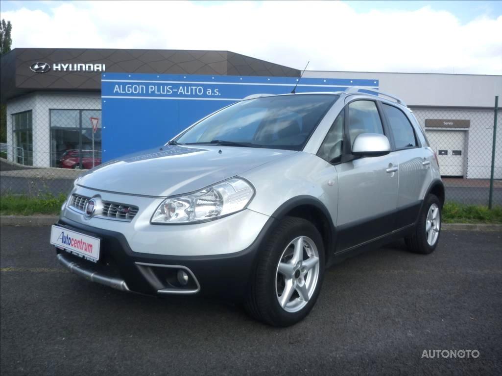 Fiat Sedici, 2009 - celkový pohled