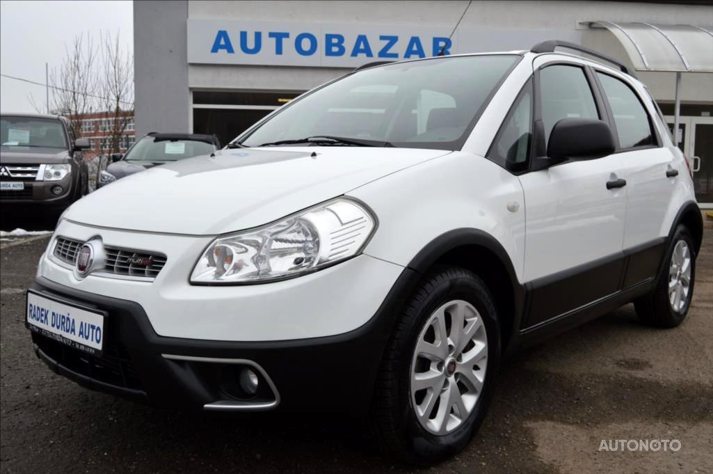 Fiat Sedici, 2011 - celkový pohled