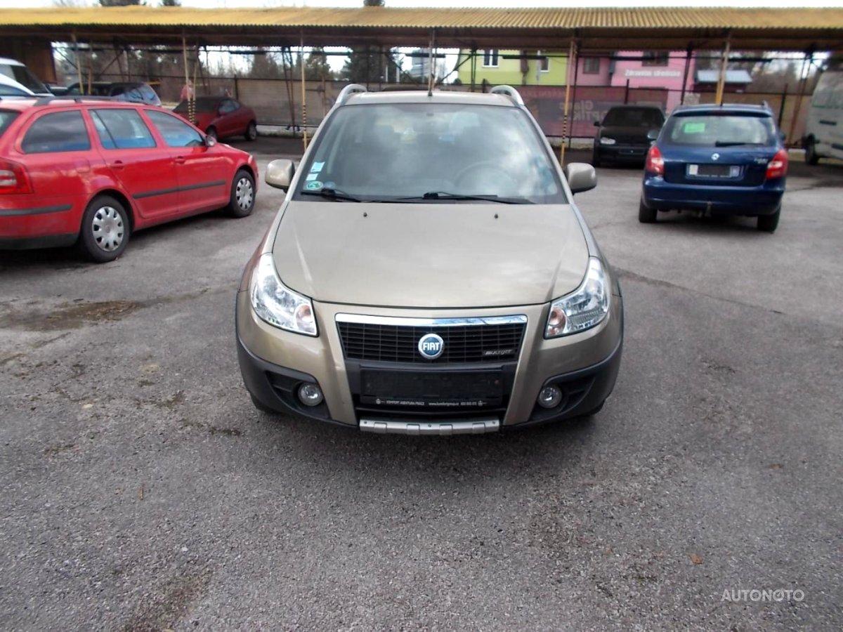 Fiat Sedici, 2007 - celkový pohled
