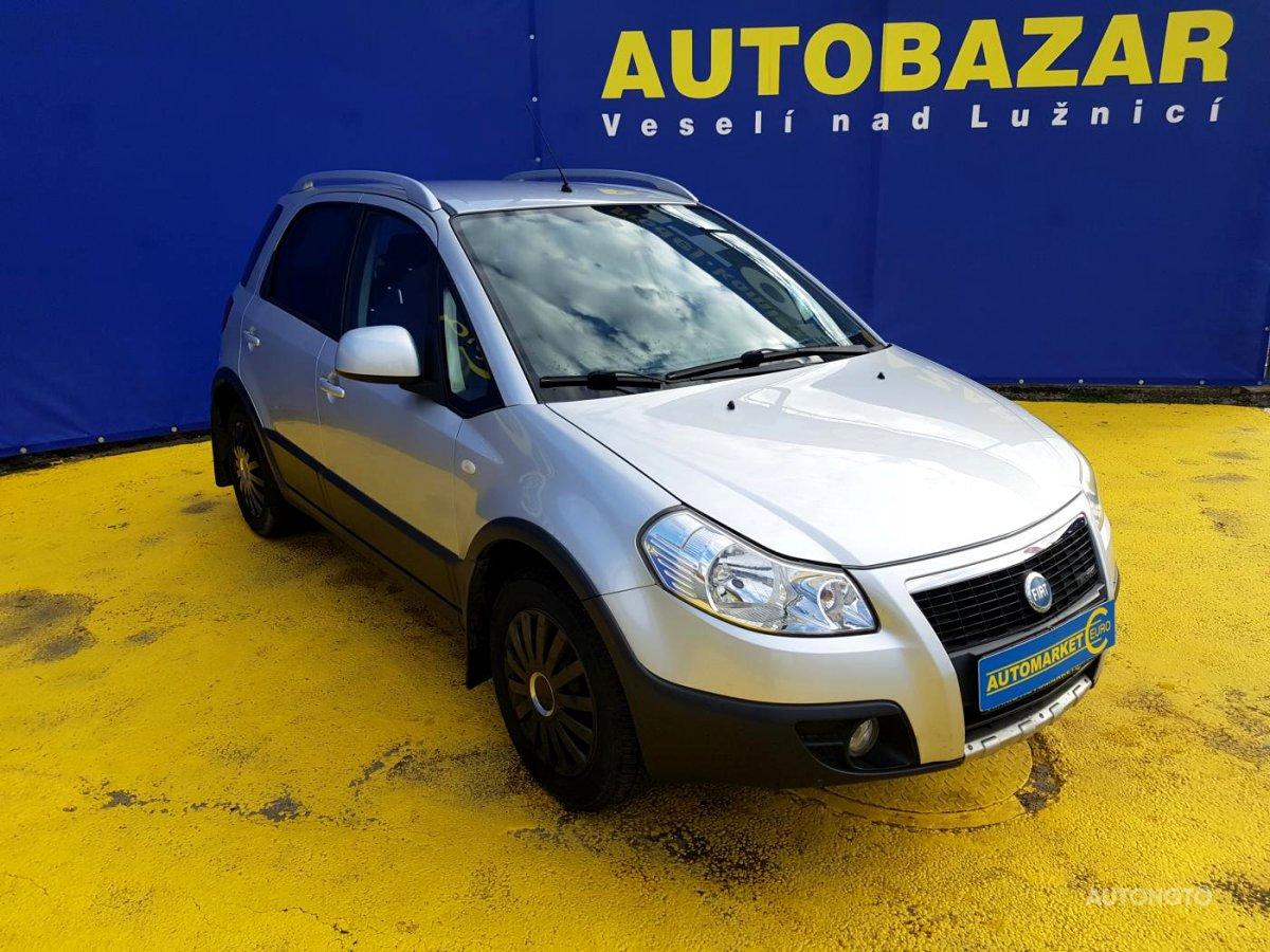 Fiat Sedici, 2008 - pohled č. 3