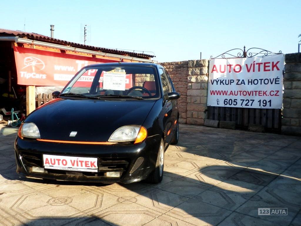 Fiat Seicento, 1999 - celkový pohled