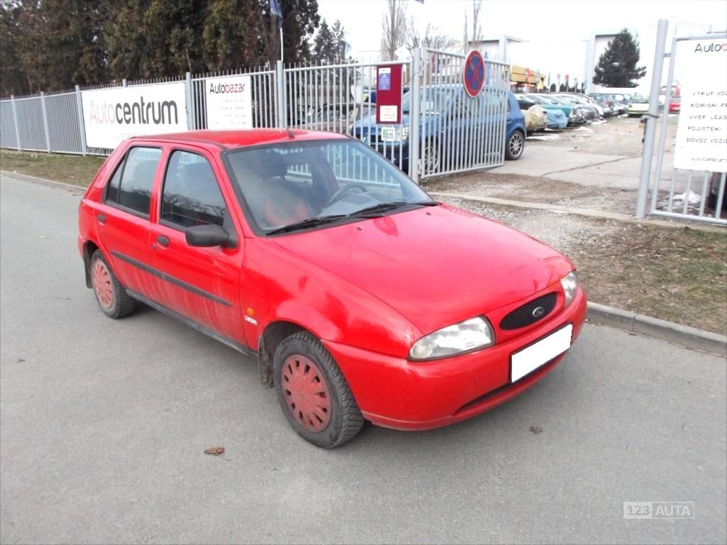 Ford Fiesta, 1998 - celkový pohled