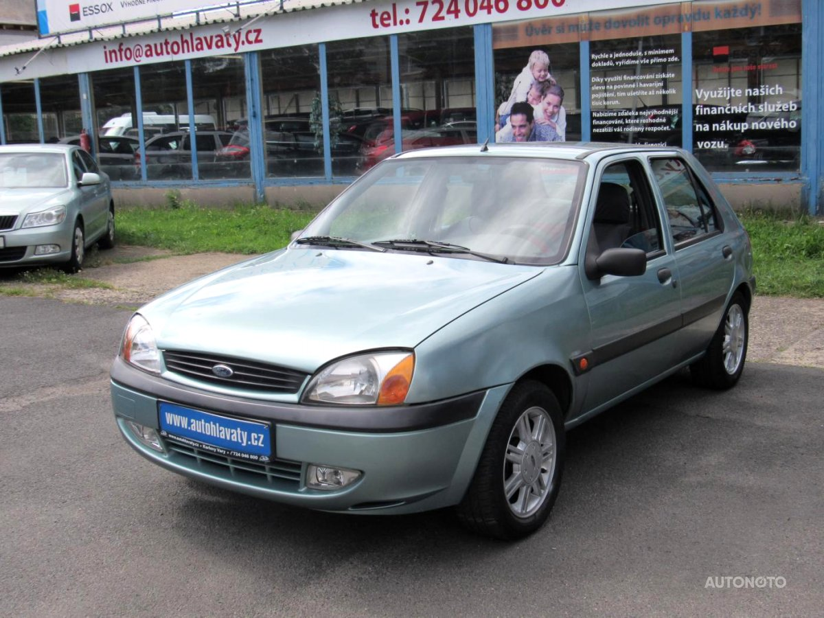 Ford Fiesta, 2000 - celkový pohled