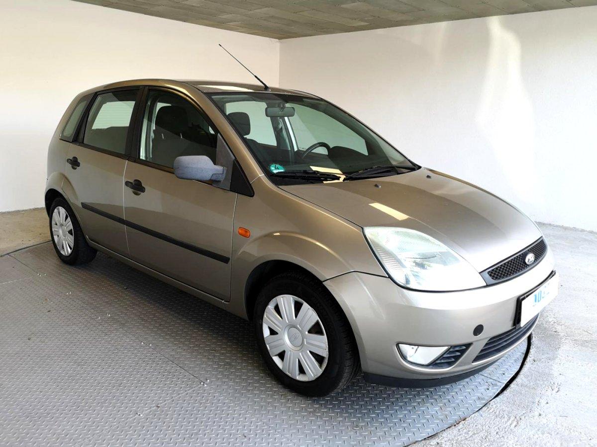 Ford Fiesta, 2004 - celkový pohled