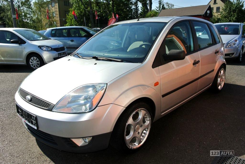 Ford Fiesta, 2003 - celkový pohled
