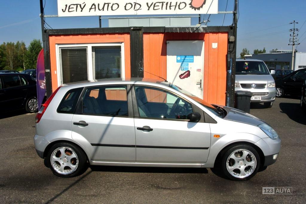 Ford Fiesta, 2003 - pohled č. 4