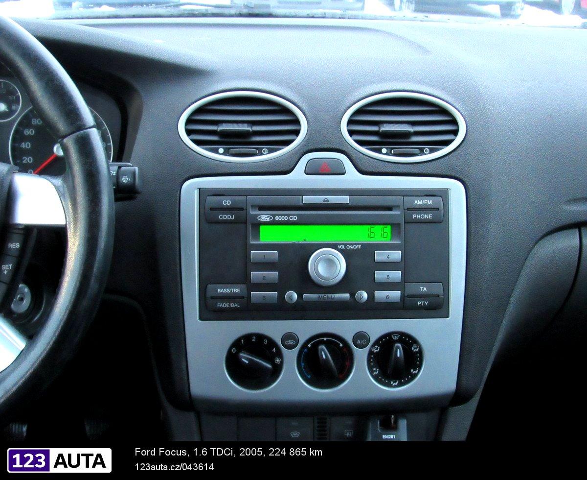 ford focus 2005 radio upgrade