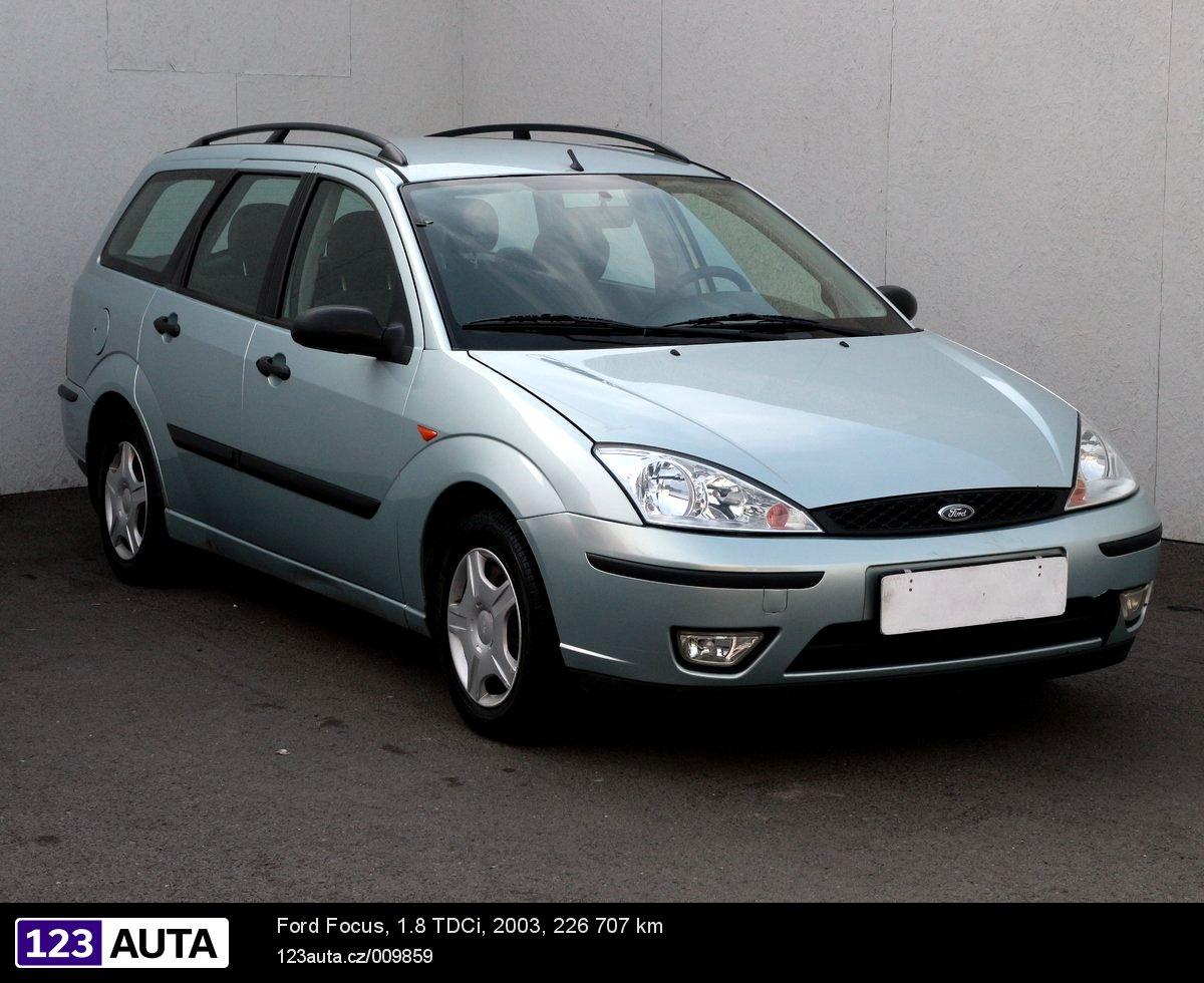 Ford Focus, 2002 - celkový pohled