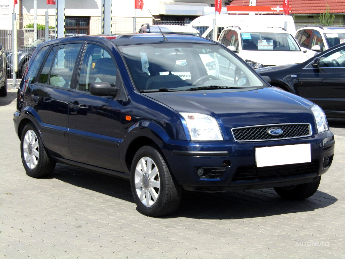 Ford Fusion, 2003 - celkový pohled