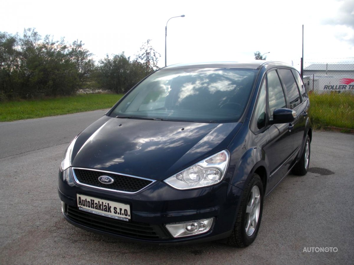 Ford Galaxy Trend, 2009 - celkový pohled