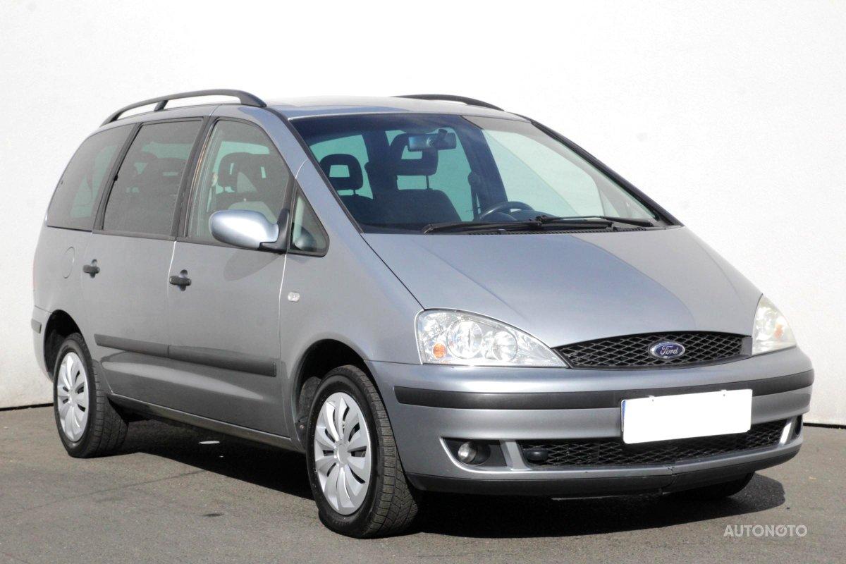 Ford Galaxy, 2002 - celkový pohled