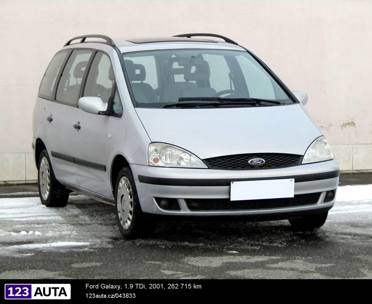 Ford galaxy 2001 pohled 1
