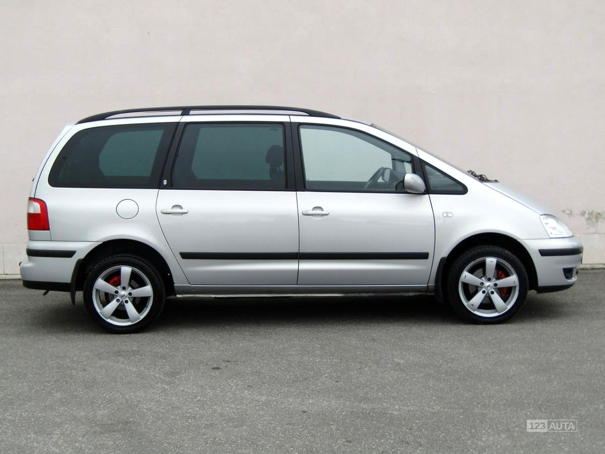 Ford galaxy 2001 pohled 4