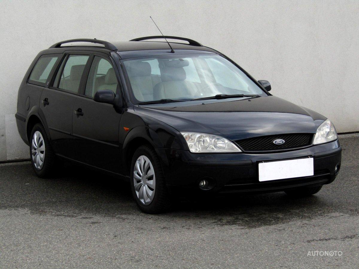 Ford Mondeo, 2002 - celkový pohled