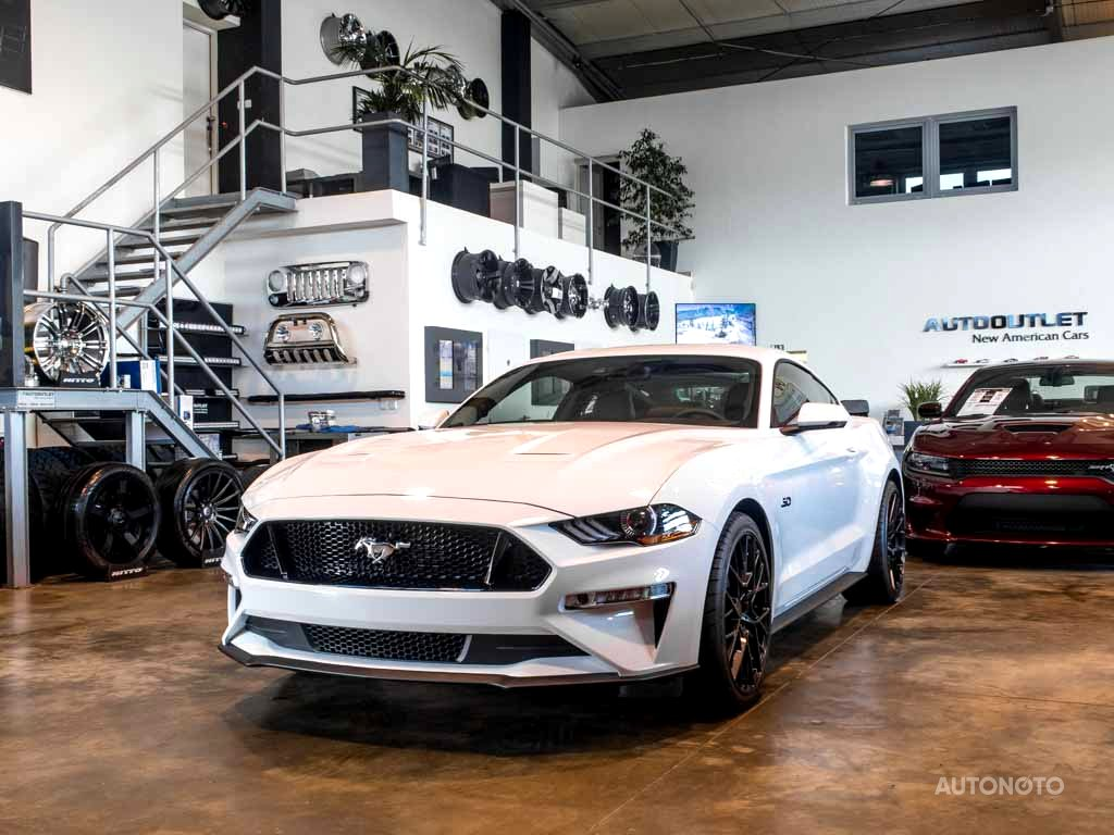 Ford Mustang, 2018 - celkový pohled