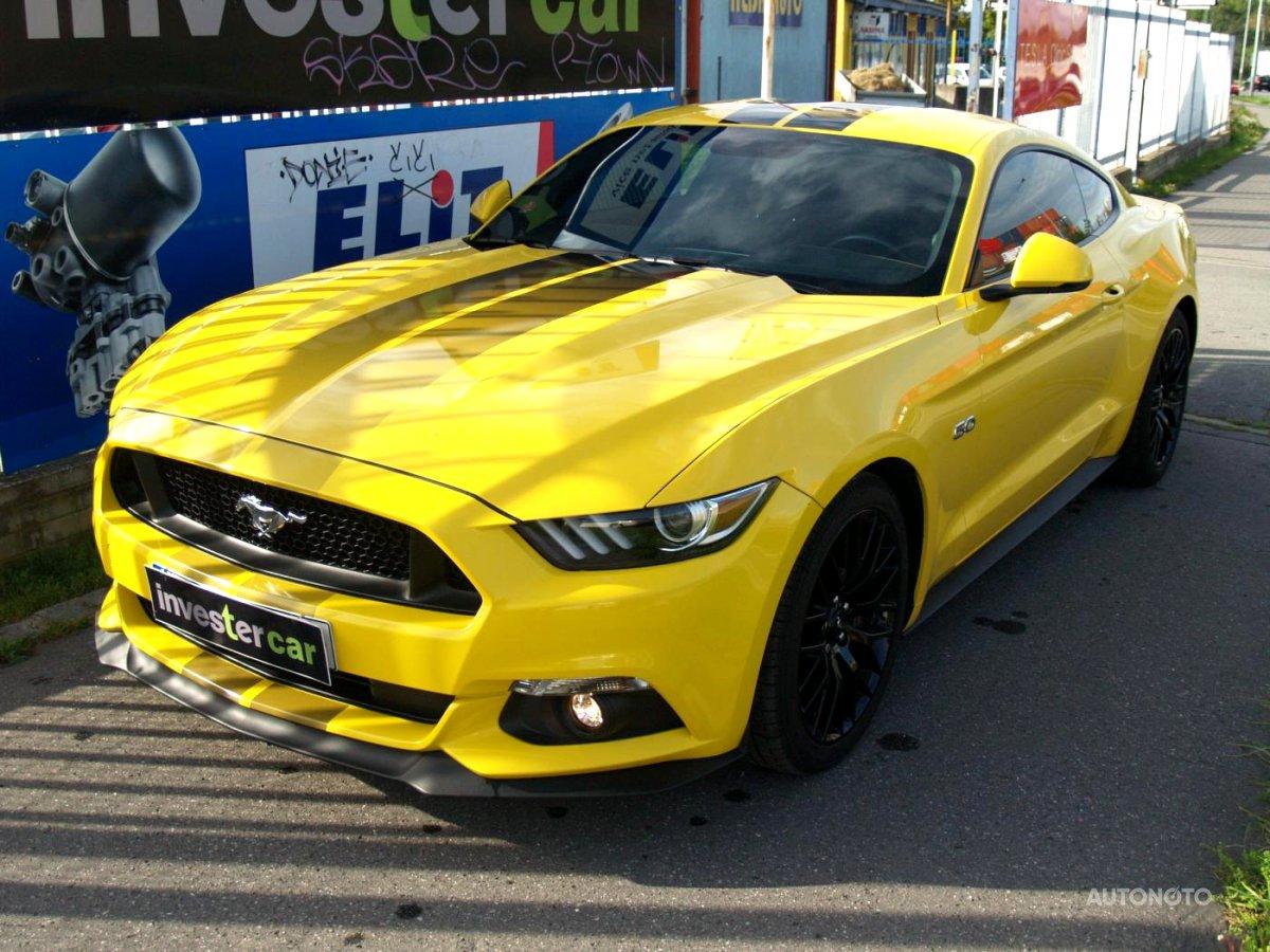 Ford Mustang, 2017 - celkový pohled