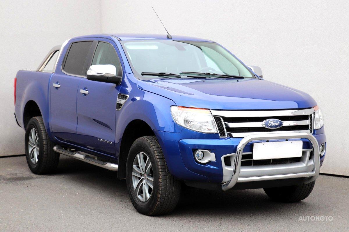 Ford Ranger, 2013 - celkový pohled