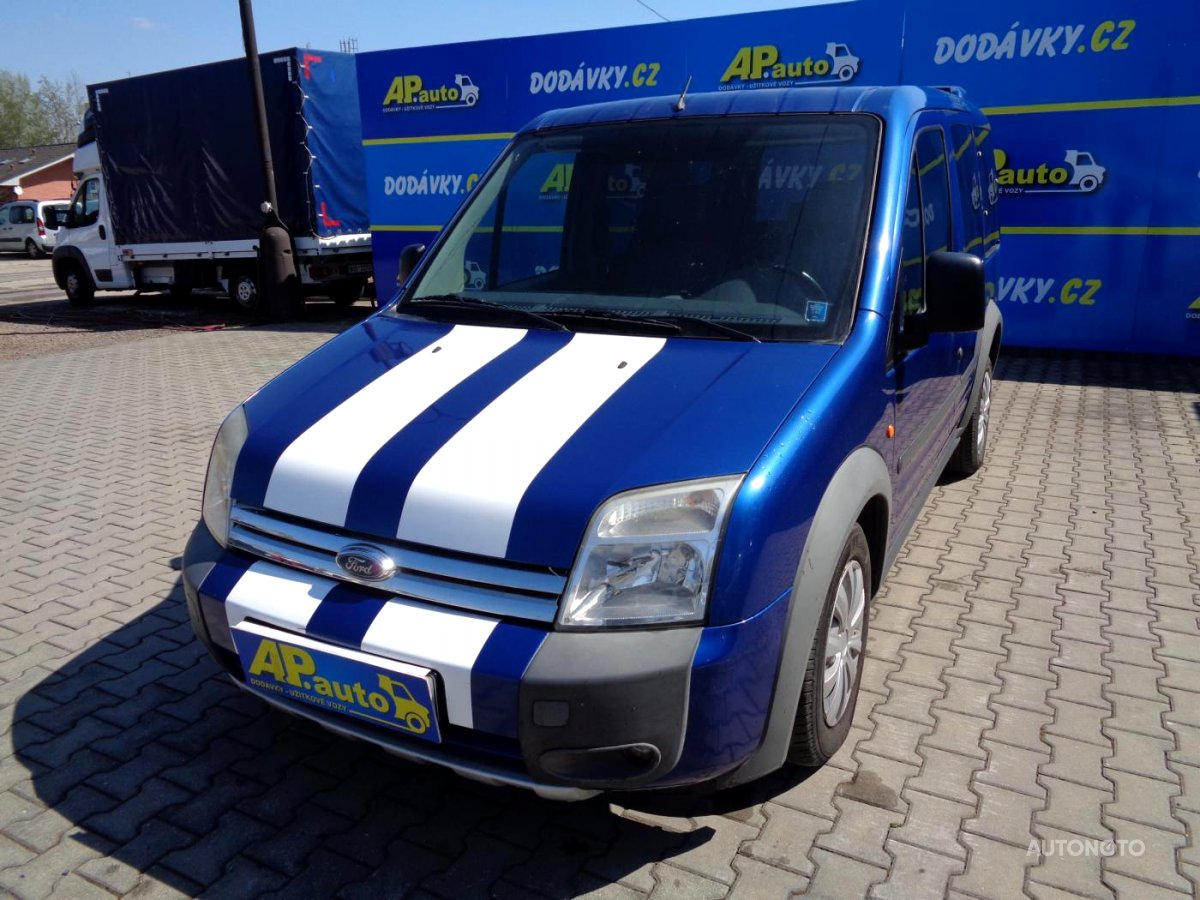 Ford Tourneo Connect, 2008 - celkový pohled